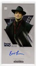 Dr Who Tenth Doctor Adventures Eric Loren as 'Diagoras' Autograph Card 01/10