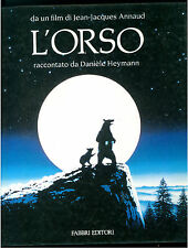 HEYMANN DANIELE L'ORSO FABBRI 1988 CINEMA