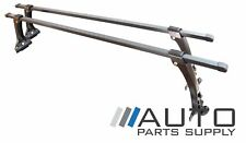 "Universal 6"" High Gutter Mount Roof Rack Cross Bar Racks 54"" Long *New*"