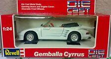 Revell Porsche,gemballa cyrrus white1:24 NIP NEW Vintage Classic Sports Car RARE