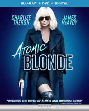 Atomic Blonde (Blu-ray + DVD + Digital, 2017) Charlize Theron