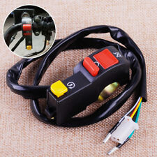 12V 7/8 Inch Motorcycle Bike Handlebar Switch Engine Stop Electrical Start Right