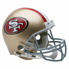SAN FRANCISCO 49ERS RIDDELL NFL FULL SIZE AUTHENTIC PROLINE FOOTBALL HELMET