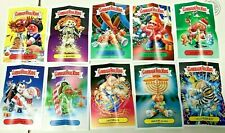 2019 GARBAGE PAIL KIDS WE HATE THE HOLIDAYS COMPLETE POSTER SET 10/10 ADAM BOMB