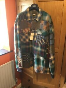 RALPH LAUREN WESTERN PATCHWORK SHIRT Limited Edition - New With Tags Size XL