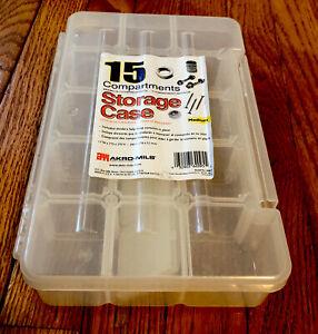 Akro-Mils 5805 Plastic Parts Storage Case For Hardware & Craft, SizevMedium