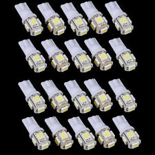 20pcs Xenon White T10 W5W 168 Interior LED Light Bulb Lamps For RV Tailer Truck