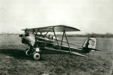 "GEE BEE MODEL A BIPLANE - LOT #9 C - 5"" X 7"" BLACK & WHITE AIRPLANE PHOTOGRAPH"