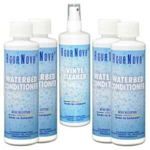 Wasserbett Conditioner Agua Nova 4x Konditionierer + 1x Vinylreiniger 250 ml