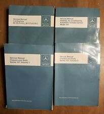 4-Mercedes Service Manuals 107-Body-Chassis-Heating-A/C-M116-M117-Engines V-8