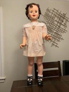 "Vintage Playpal Companion Doll 35"" - Sayco Doll"