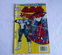 """What If"" The Punisher Killed Spiderman Marvel Comic Vol. 2 No 58 Feb 1994"