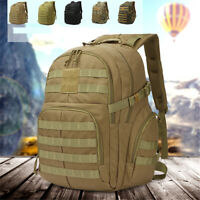 50L Military Backpack Tactical Rucksack Molle Outdoor Camping Hiking Trekking