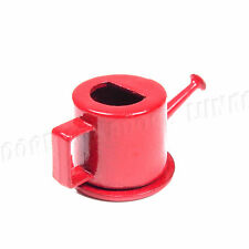 1:12 Dollhouse Miniature Watering Can Metal Red Home Garden Tool Accessory Decor