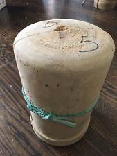 Vintage Antique Wooden Hat Block Form Hand Made #5