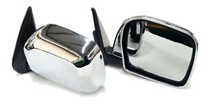 EXTERIOR REAR VIEW SIDE DOOR MIRRORS CHROME DM142-CH FOR TOYOTA HILUX LN167