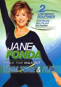 Jane Fonda Trim Tone and Flex & New Region 2 DVD