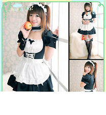 Japanese Anime evangelion EVA Wonderful cosplay LOLITA Maid Costume#778