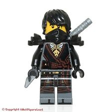 LEGO NinjaGo MiniFigure - Cole (Hands of Time, w/ Black Armor) Set 70623