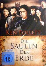Die Säulen der Erde (4 DVDs), NEU