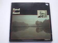 ravel joue ravel (megaphonie) rare lp vinyle musique classique
