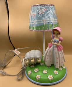 Disney Pixar Toy Story Bo Peep w/ Sheep Table Lamp