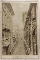 Genoa Italia Foto Alfredo Noack PL17c1n10 Cartolina Armadio Vintage Albumina