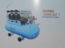 Dental Air Compressor Oil free low noise Suitable upto 10 dental chair DA7003