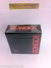 BONGO ICONIX FOR MEN 3.4 OZ/ 3.3 OZ/ 100 ML EAU DE TOILETTE EDT SPRAY NEW IN BOX
