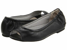 NWB Lacoste Women's Candale Leather Classy Flats Ballet Loafers Fashion SZ 5,5 -