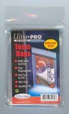 100 ULTRA-PRO RE-SEALABLE TEAM BAGS, ACID FREE, NO PVC!
