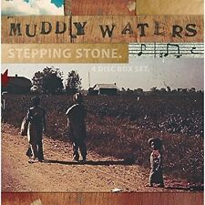 Muddy Waters-Stepping Stone 3 CD + DVD NUOVO