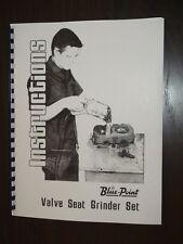 Snap On / Black & Decker Valve Seat Grinder Inst Manual