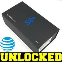 Samsung Galaxy S8+ PLUS G955U 64GB Midnight Black (AT&T UNLOCKED) T-Mobile *NEW