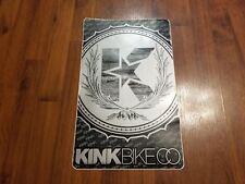 """Kink Bike Co. BMX Ramp Jump Sticker - Decal - 11"""" X 17.5"""""""