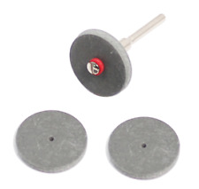 3 pcs  Grinding Wheel Rubber Wheel Dremel Accessories For Dremel Rotary Tools