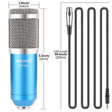 Neewer  NW-800 Conjunto de Micrófono+ Montura de Choque + Cable audio+ Esponja