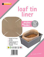 toastabags Loaf Tin Liner reusable, non-stick Baking Cake Dishwasher safe