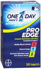 One-A-Day Mens Pro Edge Complete Multivitamin 50 Tablets (Pack of 2)