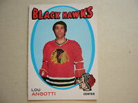 1971/72 O-PEE-CHEE NHL HOCKEY CARD #212 LOU ANGOTTI NM SHARP!! 71/72 OPC