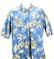 Pierre Cardin Size XL Hawaiian Button Down Shirt
