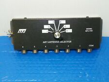 MFJ-1701 6-Position Antenna Switch 2 KW 160-10 Meters w/Manual