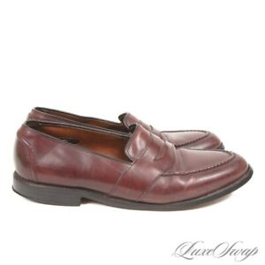 Allen Edmonds Made in USA Cordovan Burgundy Leather Randolph Loafers Shoes 11 D