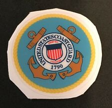 United States Coast Guard USA Decal For Full Size Football Helmet Free Shipping