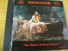 MIDWINTER THE WATERS OF SWEET SORROW CD MINT-- FOLK ROCK KISSING SPELL RARO