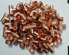100 X 22mm endfeed mixed copper fittings Elbows Tee Straight