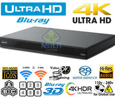 SONY UHD UBP-X800M2 4K Region Free DVD & BD ZONE ABC Blu-Ray Disc Player 3D WIFI