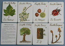 VINTAGE PLAYING CARDS CARD GAME HAPPY FAMILIES FRENCH HERBIER DE MAMY 42 CARD &2