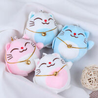 1Pc 7CM Sweet Cat Keychain Plush Stuffed Toy Doll , Wedding Bouquet Toy Gift A8A