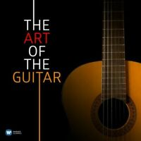 THE ART OF THE GUITAR 2CD NEW Classical Sor Vivaldi Bach Albeniz Villa-Lobos